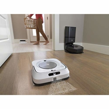 irobot-roomba-i7 in kombination mit braava
