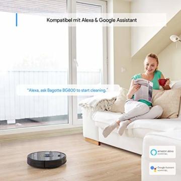 Bagotte BG 800 Saugroboter Alexa und Google kompatibel