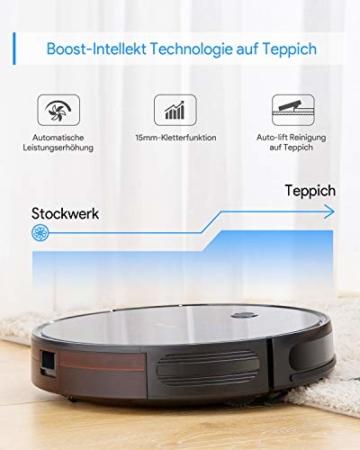 Bagotte saugroboter BG600 Max Boost Intellekt Technologie