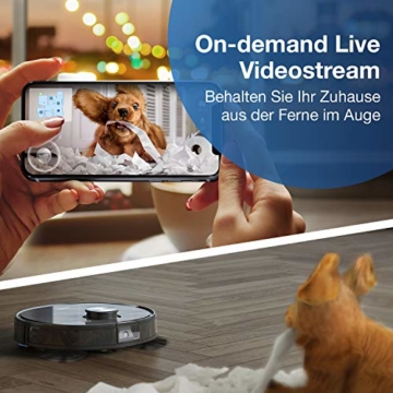 ECOVACS DEEBOT OZMO T8 AIVI Live Video Stream
