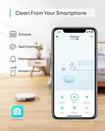 eufy robovac 10 App Steuerung
