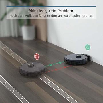 Tesvor Saugroboter S6 läft akku automatisch wieder auf