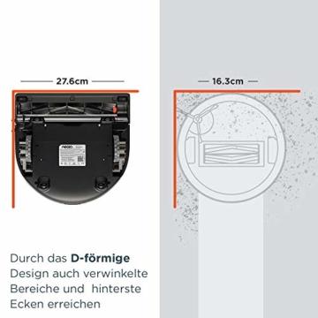 Neato D450 D-förmige Bauweise