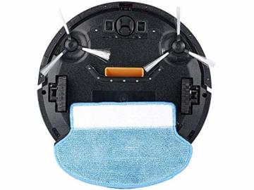 Sichler Haushaltsgeräte Akku Saugroboter: Staubsauger-Roboter PCR-3550UV mit Ladestation, HEPA-Filter & UV-Lampe (Wisch-Haushaltshelfer) - 2
