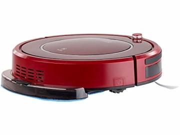 Sichler Haushaltsgeräte Akku Saugroboter: Staubsauger-Roboter PCR-3550UV mit Ladestation, HEPA-Filter & UV-Lampe (Wisch-Haushaltshelfer) - 3