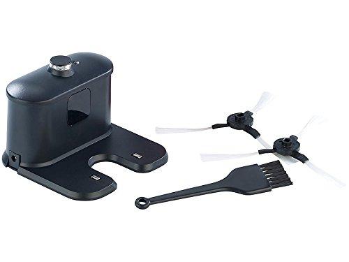 Sichler Haushaltsgeräte Akku Saugroboter: Staubsauger-Roboter PCR-3550UV mit Ladestation, HEPA-Filter & UV-Lampe (Wisch-Haushaltshelfer) - 7