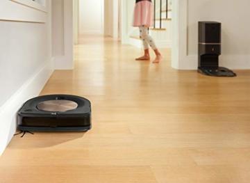 iRobot Roomba s9+ Über WLAN verbundener Saugroboter mit automatischer Absaugstation - PerfectEdge®-Technologie mit Eckenbürste und breiteren Gummibürsten für alle Böden - Leistungsverstärkung - 2