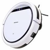 MEDION MD 18500 Saugroboter mit Ladestation (90 Min Laufzeit, Roboterstaubsauger für Hartböden, Fliesen, Laminat, Tierhaar optimiert, Direktabsaugung, autom. Rückkehr zur Ladestation) weiß - 1