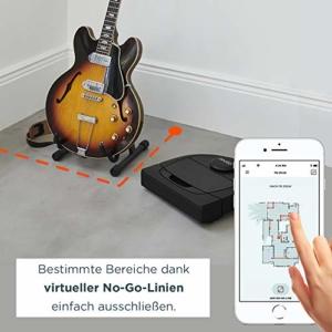 Neato Robotics D4 Smart Roboter-Staubsauger - Alexa-kompatibel - Roboter-Staubsauger mit Ladestation, WLAN und App - 2