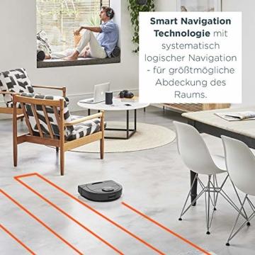 Neato Robotics D4 Smart Roboter-Staubsauger - Alexa-kompatibel - Roboter-Staubsauger mit Ladestation, WLAN und App - 3