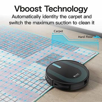 Proscenic 850T WLAN Saugroboter, Staubsauger Roboter, Alexa & Google Home & Appsteuerung, Saugroboter mit Wischfunktion, 3000Pa Saugleistung auf Teppichen und Hartböden, Magnetband für Begrenzung - 7