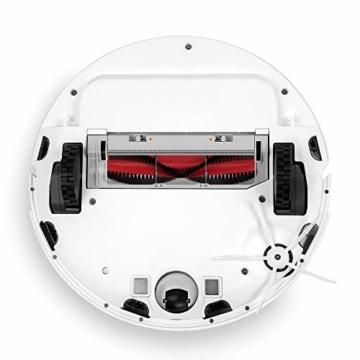 Roborock S6 Saug- und Wischroboter (Saugleistung 2000Pa, 180min Akkulaufzeit, 480ml Staubbehälter, 140ml Wassertank, 67db Lautstärke, Adaptiver Routenalgorithmus, App- und Sprachsteuerung) Weiß - 3