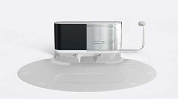 Roborock S6 Saug- und Wischroboter (Saugleistung 2000Pa, 180min Akkulaufzeit, 480ml Staubbehälter, 140ml Wassertank, 67db Lautstärke, Adaptiver Routenalgorithmus, App- und Sprachsteuerung) Weiß - 6