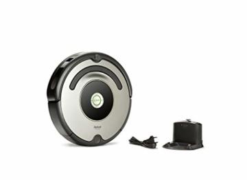 iRobot Roomba 615 Saugroboter mit 3-stufigem Reinigungssystem, Dirt Detect, Staubsauger Roboter selbstaufladend mit Ladestation, geeignet für Tierhaare, Teppiche und Hartböden, mit intelligentem Griff - 2