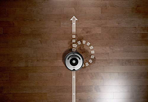 iRobot Roomba 615 Saugroboter mit 3-stufigem Reinigungssystem, Dirt Detect, Staubsauger Roboter selbstaufladend mit Ladestation, geeignet für Tierhaare, Teppiche und Hartböden, mit intelligentem Griff - 6