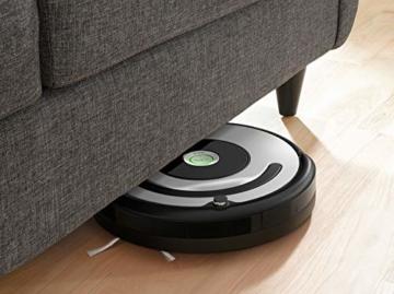 iRobot Roomba 615 Saugroboter mit 3-stufigem Reinigungssystem, Dirt Detect, Staubsauger Roboter selbstaufladend mit Ladestation, geeignet für Tierhaare, Teppiche und Hartböden, mit intelligentem Griff - 7