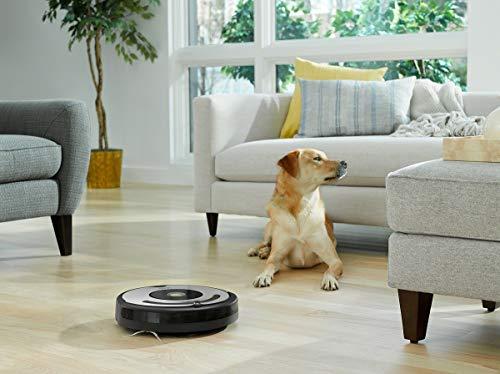 iRobot Roomba 615 Saugroboter mit 3-stufigem Reinigungssystem, Dirt Detect, Staubsauger Roboter selbstaufladend mit Ladestation, geeignet für Tierhaare, Teppiche und Hartböden, mit intelligentem Griff - 10