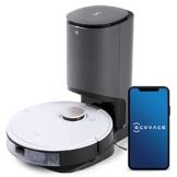 ECOVACS DEEBOT OZMO T8+, Staubsauger-Roboter mit Wischfunktion & automatischer Absaugstation, intelligenter Navigation, Google Home, Alexa- & App-Steuerung - 1
