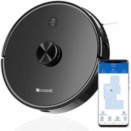 Proscenic M7 PRO WLAN Saugroboter, Staubsauger Roboter mit Laser-Navigation, App- und Alexa Steuerung, Saugroboter mit Wischfunktion, starke Saugkraft für Tierhaare und Teppiche - 1